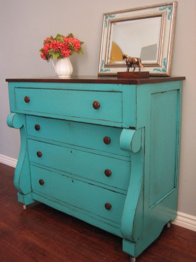 1000 images about muebles pintados on pinterest for Ideas for painting a dresser