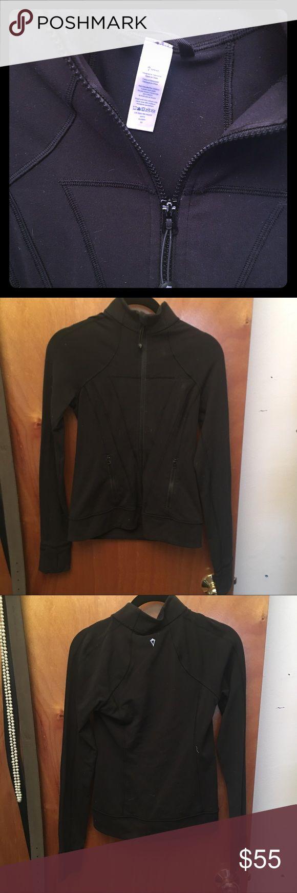 IVIVVA lululemon black zip up EUC! Great condition no flaws. Size 12 in IVIVVA fits me size 2-6 in lululemon lululemon athletica Tops Sweatshirts & Hoodies