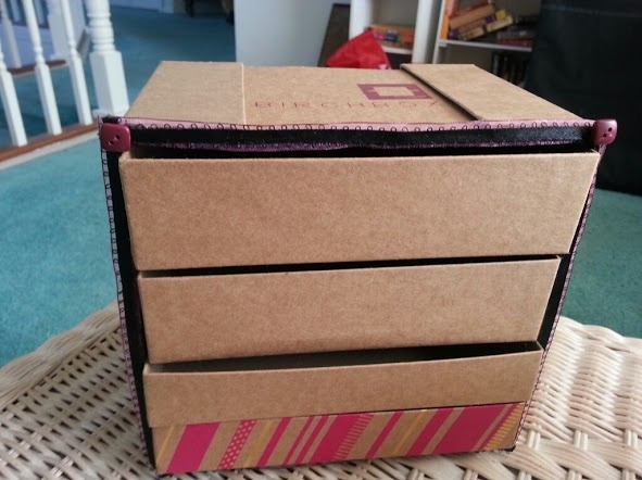 DIY Birchbox Organizer