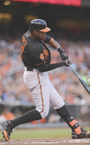 Baltimore Orioles Adam Jones