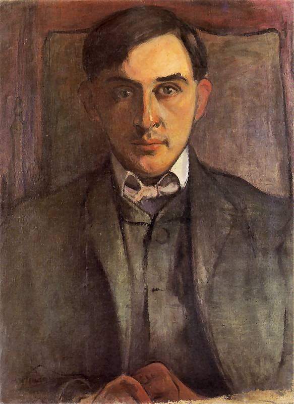 Portret Witkacego | Władysław Ślewiński