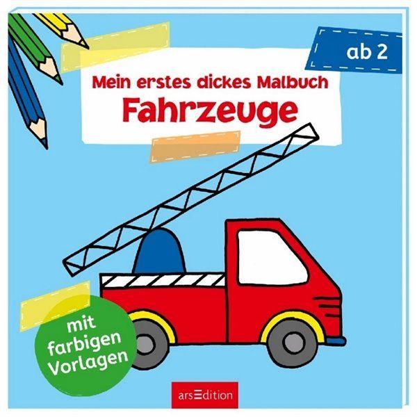 Fahrzeuge Malbuch ab 2 Jahre | Wenn du mal buch, Bücher ...