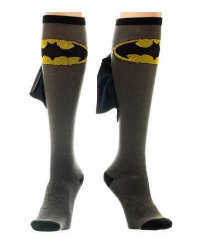 Batman Cape Knee High Socks DC Comics http://www.amazon.com/dp/B007HOJVR0/ref=cm_sw_r_pi_dp_O29Kvb1RFANP5