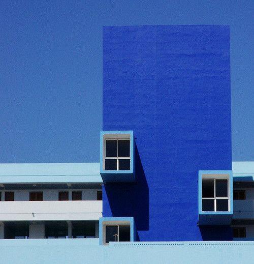 Blue escape. #blue