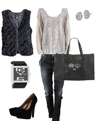 FashionLike.gr - Γούνινο γιλέκο! Πως να το φορέσετε! >>> http://bit.ly/193TfPG