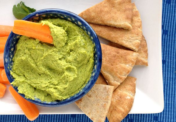 Cilantro-Lime Hummus: Cathy Eat, Cilantro Lime Hummus, Dip, Food, Recipes, Yummy, Appetizer, Limes