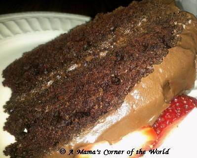 A Mama's Corner of the World: Why Should we Put Tomatoes in Thunder Cake?