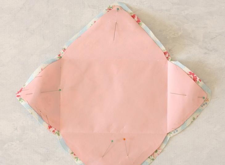 Как сделать конверт из ткани