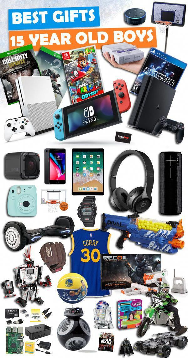 Tons Of Great Gifts For 15 Year Old Boys Besttoyforteens