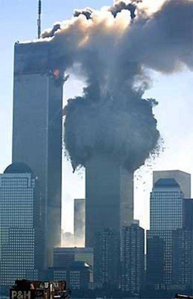 New York - 9/11 ~ Twin Towers, NY, terrorist attack, the day the world changed, smoke, never forget, photo