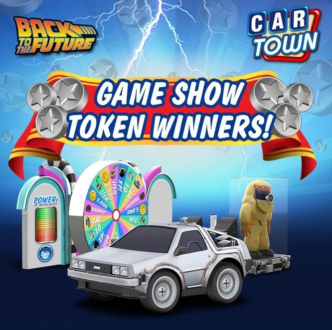 ¡Seleccionamos los 20 jugadores afortunados para recibir los 50 Tokens GRATIS para el Game Show! ¡Conéctate ahora para saber si has ganado y aprovecha para jugar y ganar algunos premios fantásticos de Volver Al Futuro!     14/11/2012