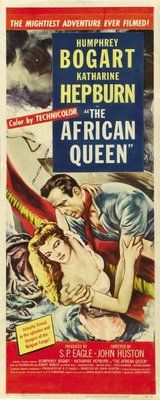 The African Queen (1951) movie #poster, #tshirt, #mousepad, #movieposters2