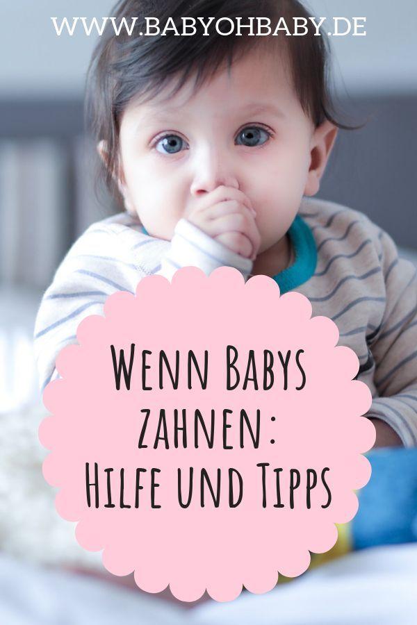 Dein Baby und das Zahnen: 5 nervenschonende Tipps – Baby oh Baby – Tipps für den Alltag mit Baby
