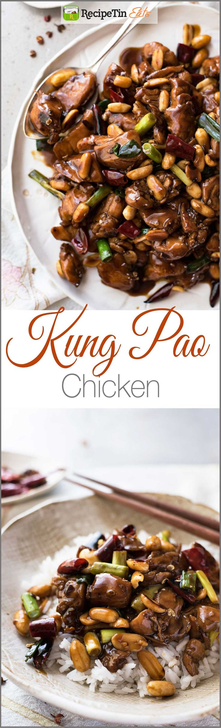 Kung Pao Chicken - Made right with a real restaurant quality sauce!