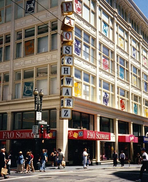 san+francisco+store+fronts | FAO Schwarz Toy Store San Francisco CA now Barneys New York | Flickr ...