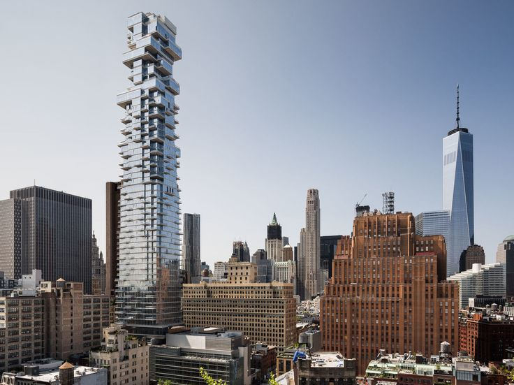 Un nuevo rascacielos en Nueva York: Descubrimos el interior de la 'Jenga Tower'