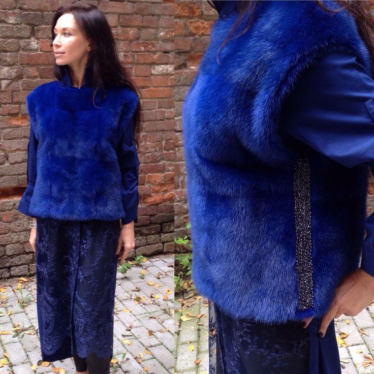 Купить Свитер из меха норки. - меховой свитер, свитер норковый, свитер из меха, модный свитер