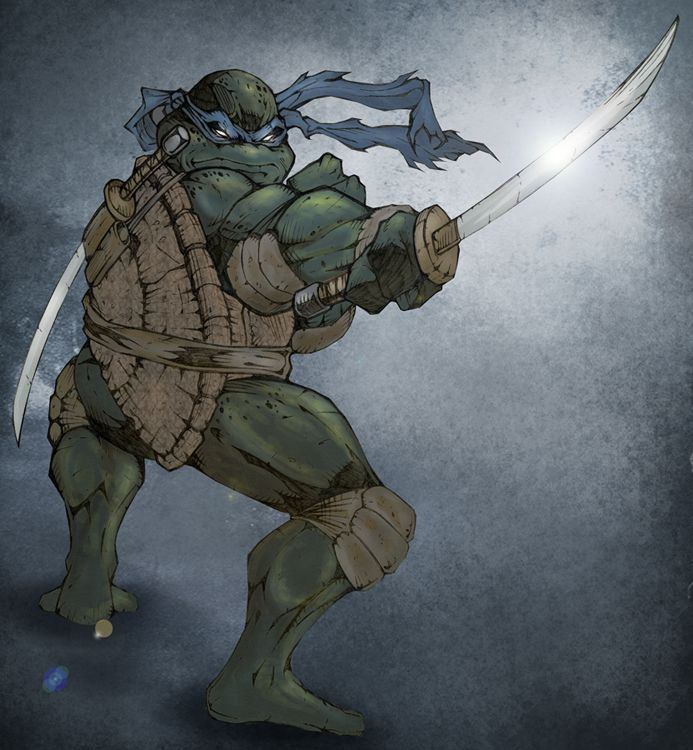 """A true Ninja is a master of himself and his environment, so don't forget: We're turtles!"" -Leonardo"