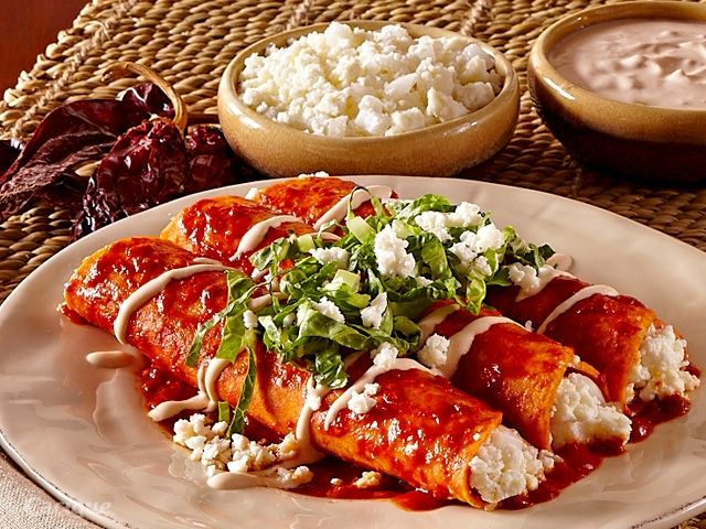 ... up with queso añejo recept yummly red enchiladas with queso fresco