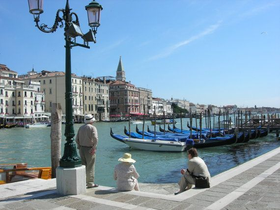 Tranquillity  Grand Canal Venice by SJImages on Etsy, £12.00