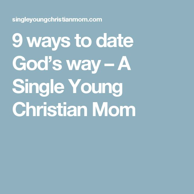 young christian singles