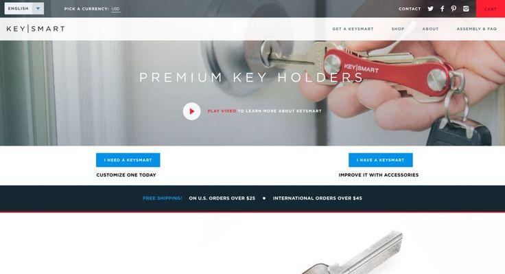 KeySmart http://shopify.cool/technology/keysmart/?utm_campaign=coschedule&utm_source=pinterest&utm_medium=Shopify%20Cool&utm_content=KeySmart