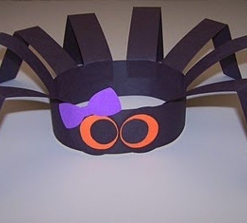 68 best spiders images on pinterest halloween crafts animals and halloween ideas - Halloween Spider Craft Ideas
