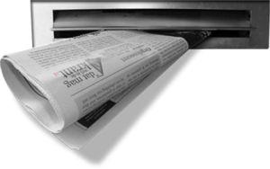 Mijn eerste betaalde baantje was kranten bezorgen