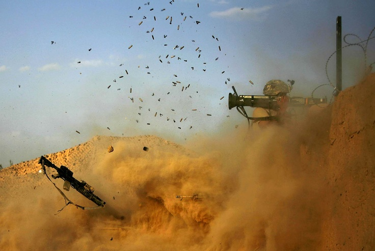 I don't think that back blast area was clear. A Soldier with the 101st Airborne Division Fires an AT-4 to Dramatic Effect While Fending off a Taliban Attack on Combat Outpost Nolen in the Arghandab Valley, Afghanistan.