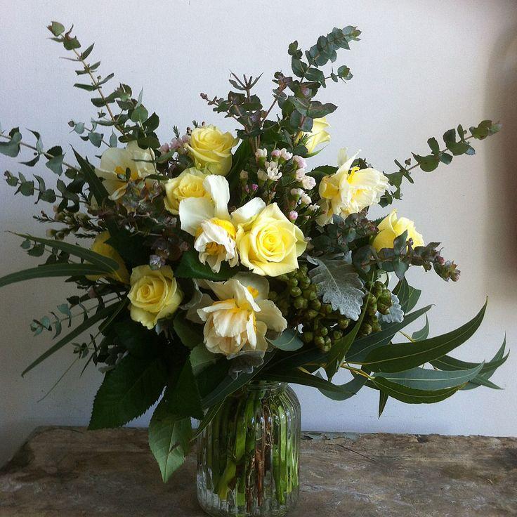 Soft lemon tones with native foliage