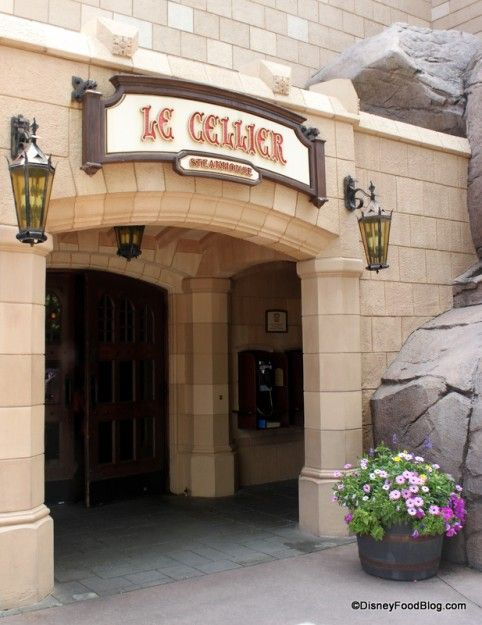 Reviewing a brand new menu at Le Cellier today! #Epcot #DisneyWorld #Food