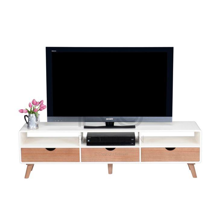 TV Unit | Buy Margrethe TV Unit | Retro TV & AV Units – Retrojan