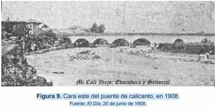 EL PUENTE ORTIZ  El informe de 1840 no solo menciona la epidemia de viruela que ha azotado a la población sino también la necesidad que existe de construir algunos puentes de cal y ladrillo sobre los ríos que atraviesa el camino de Cali a Jamundí.