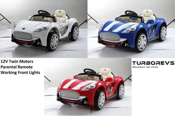 KIDS ELECTRIC BATTERY 12V RIDE ON TOY CAR + PARENTAL REMOTE CONTROL