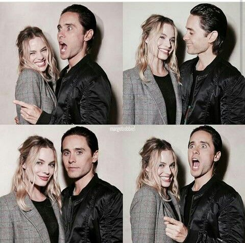 Jared Leto & Margot Robbie