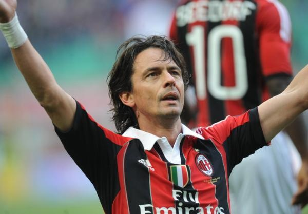 """He is Legend"" Filippo Inzaghi retired Thank you; http://soccerchil.com"