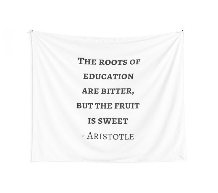 Greek Philosophy Quotes - Aristotle - The roots of education are bitter but the fruit is sweet #redbubble #quotes #Aristotle #Plato #Socrates #greek #philosophy #philosopher #motivation #inspirationandideas #inspirationalquotes #inspiration #wisdom