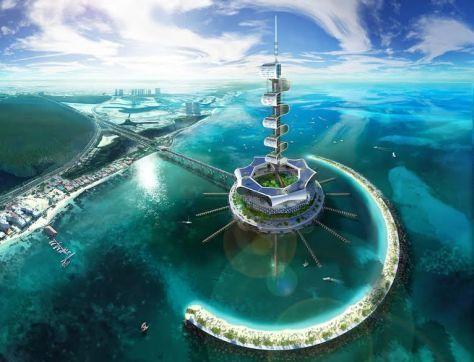 Il resort è chic.   Nasce in Messico il primo relais Zero Energy. E si potrà dormire sott'acqua…