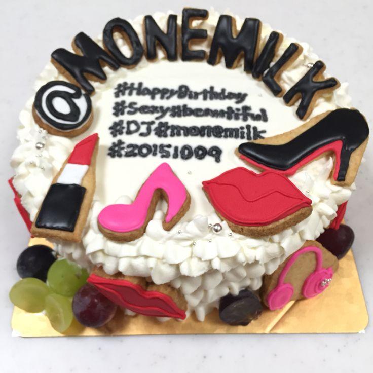 インスタジェニックな女子力高めなケーキ