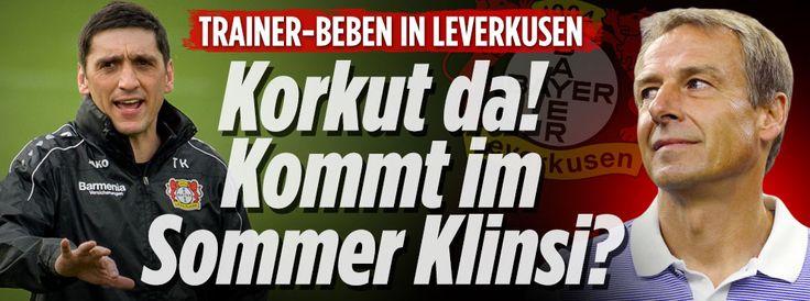 Korkut da! Kommt Klinsi im Sommer? http://www.bild.de/sport/fussball/bayer-leverkusen/kommt-klinsmann-im-sommer-50730188.bild.html