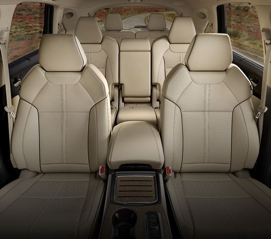 MDX 2020 Seats In Parchment Front View