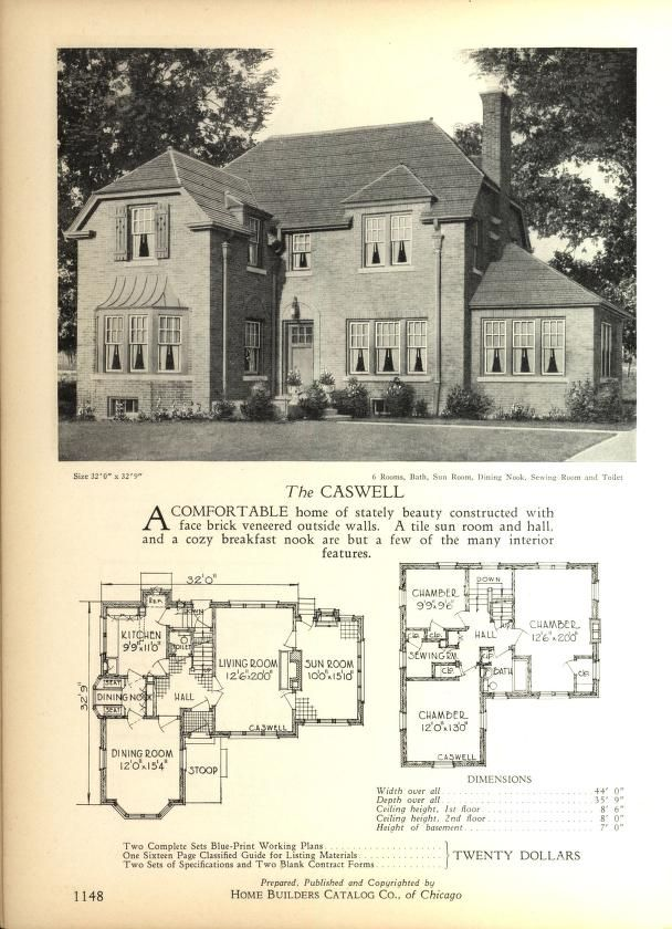 Home Builders Catalog: Plans Of All Types Of Sm.