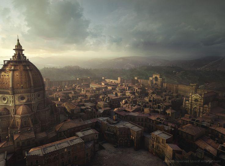 """Assassin's Creed: Vista de Florencia en """"Lineage"""", corto promocional de AC:II"""