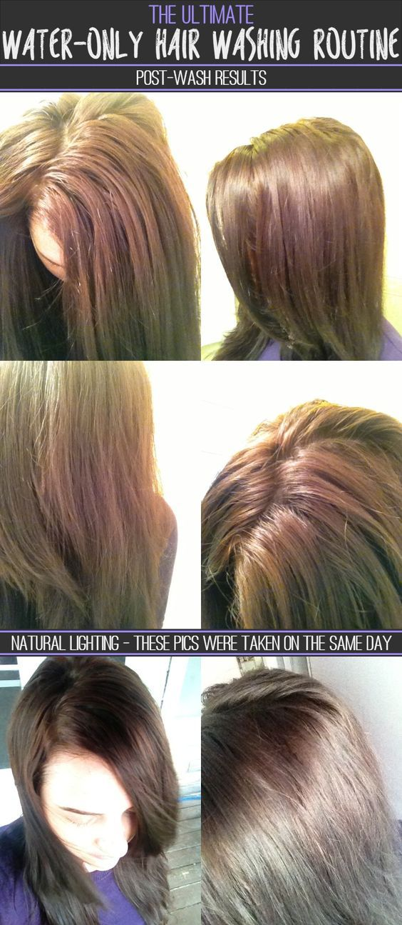 The Ultimate Water-Only Hair Washing Routine - Post Wash Results - Natural Lighting - How to wash your hair with just water - Water only hair washing - Water-Only No Poo
