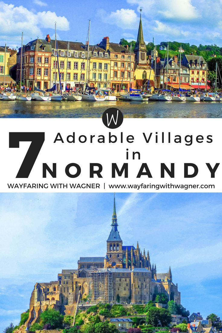 Explore these 7 adorable villages in the Normandy region of France! Normandy, France |  Beach | Normandy Travel Tips | Normandy Travel Guide | European Travel