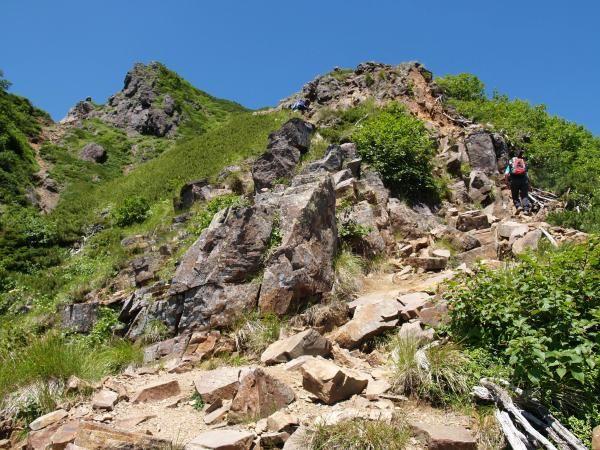 阿弥陀岳 中岳道|八ヶ岳登山ルートガイド。Japan Alps mountain climbing route guide