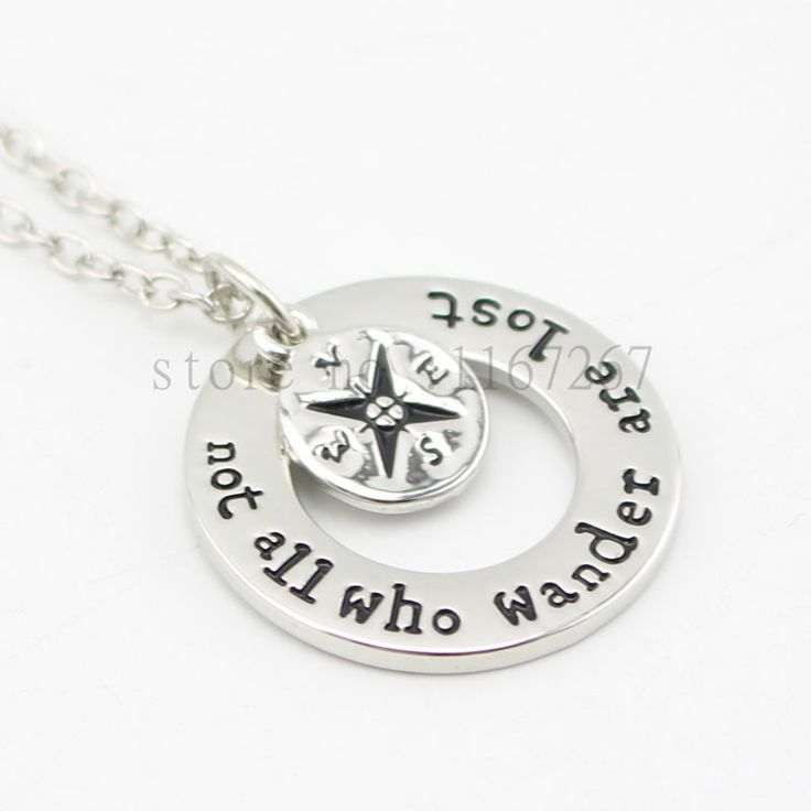 Not All Who Wander Are Lost - Traveler Necklace