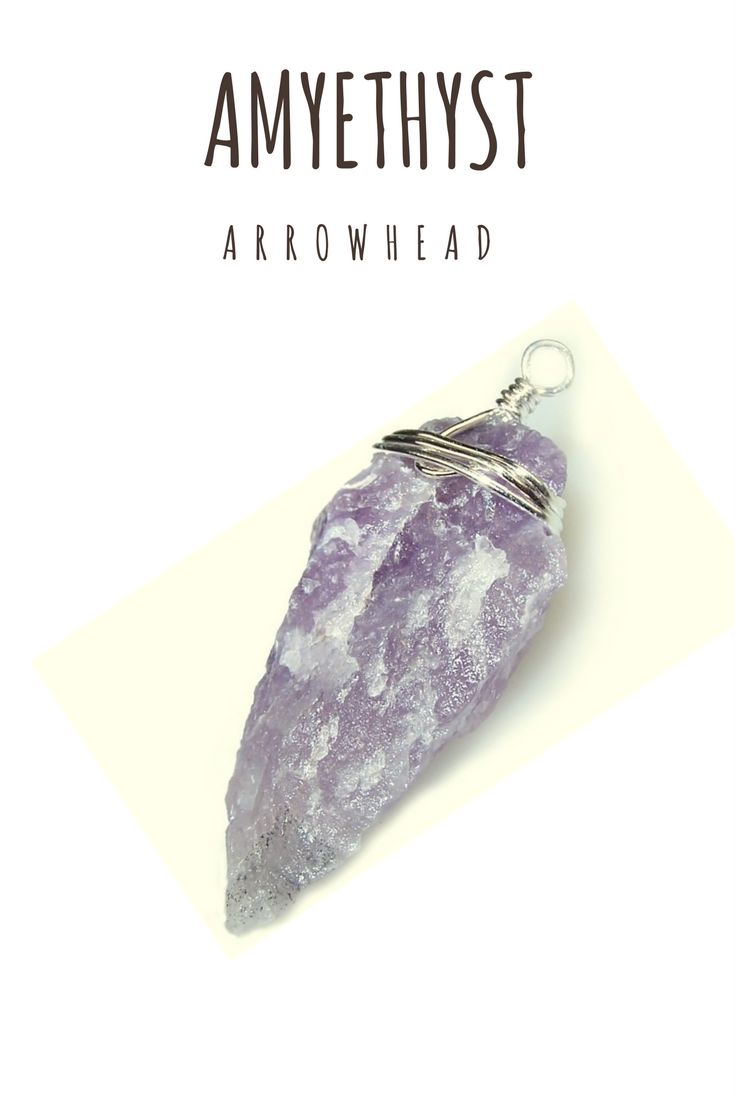 Amyethyst is widely recognised for it's intuition enhancing qualities. These adorable Arrow heads are a perfect addition to your collection!