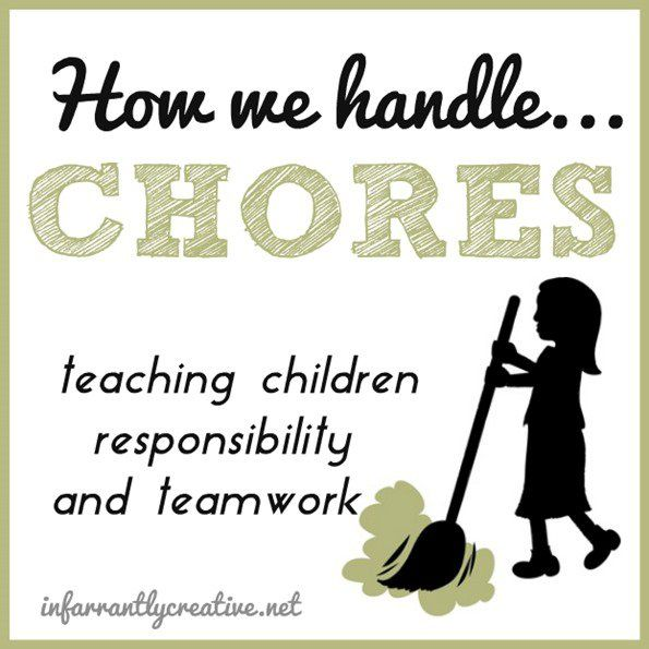 Kids | Parenting | The new year is the perfect time to start a chore system with your kids. Here's how we handle chores in our home!