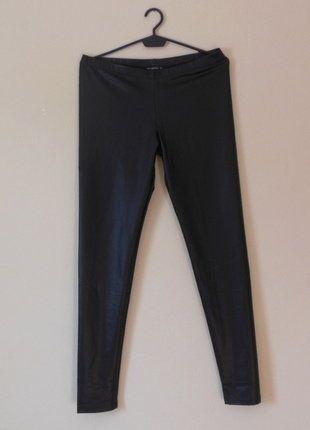 Kup mój przedmiot na #vintedpl http://www.vinted.pl/damska-odziez/legginsy/16851668-terranova-nowe-czarne-legginsy-40-42